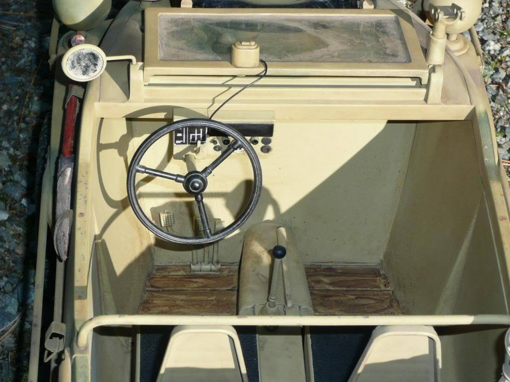 """vehicle - Archive """"old"""" work: RC 21st C Schwimmwagen conversion/scale detailing P1000465"""