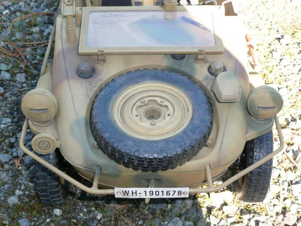"""vehicle - Archive """"old"""" work: RC 21st C Schwimmwagen conversion/scale detailing P1000468"""