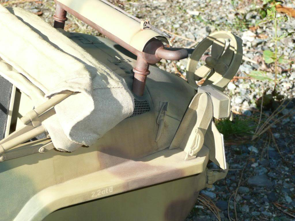 """vehicle - Archive """"old"""" work: RC 21st C Schwimmwagen conversion/scale detailing P1000473"""