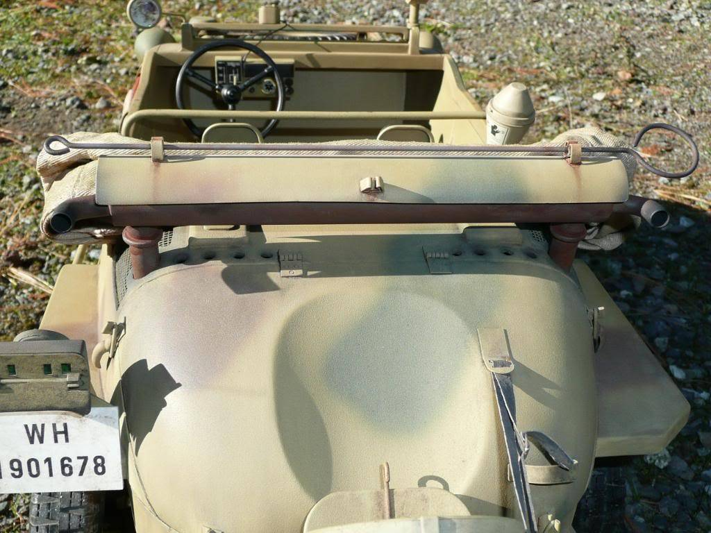 """vehicle - Archive """"old"""" work: RC 21st C Schwimmwagen conversion/scale detailing P1000475"""