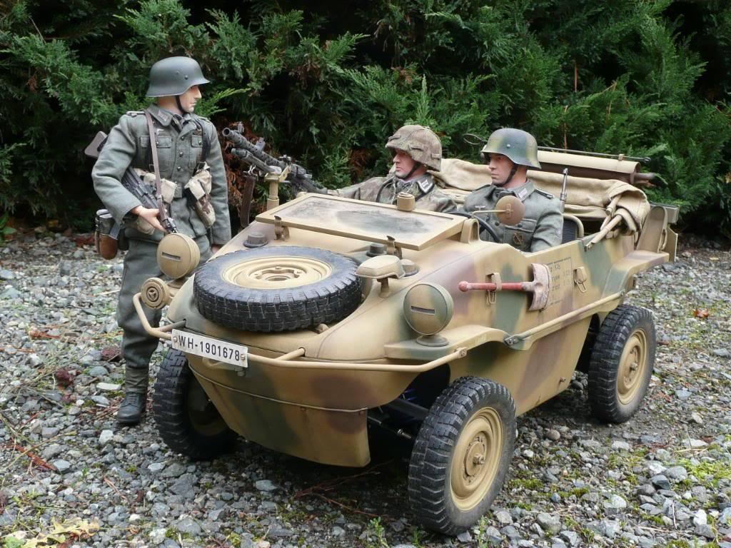 """vehicle - Archive """"old"""" work: RC 21st C Schwimmwagen conversion/scale detailing P1000547"""