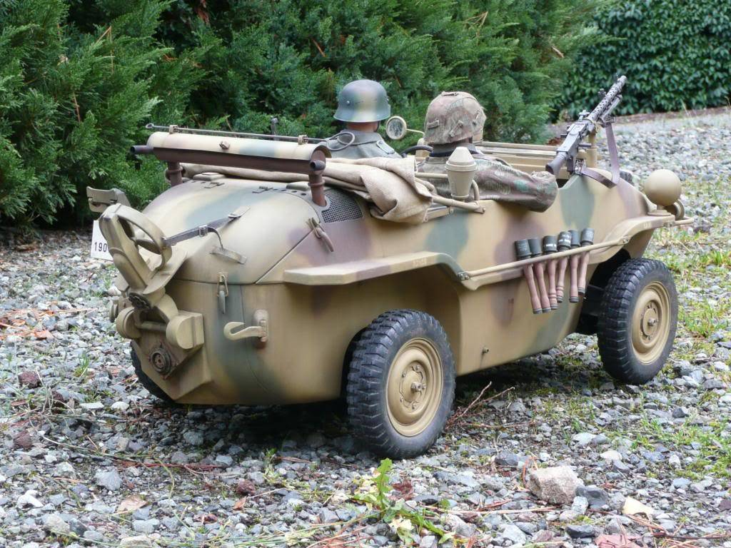 """vehicle - Archive """"old"""" work: RC 21st C Schwimmwagen conversion/scale detailing P1000557"""