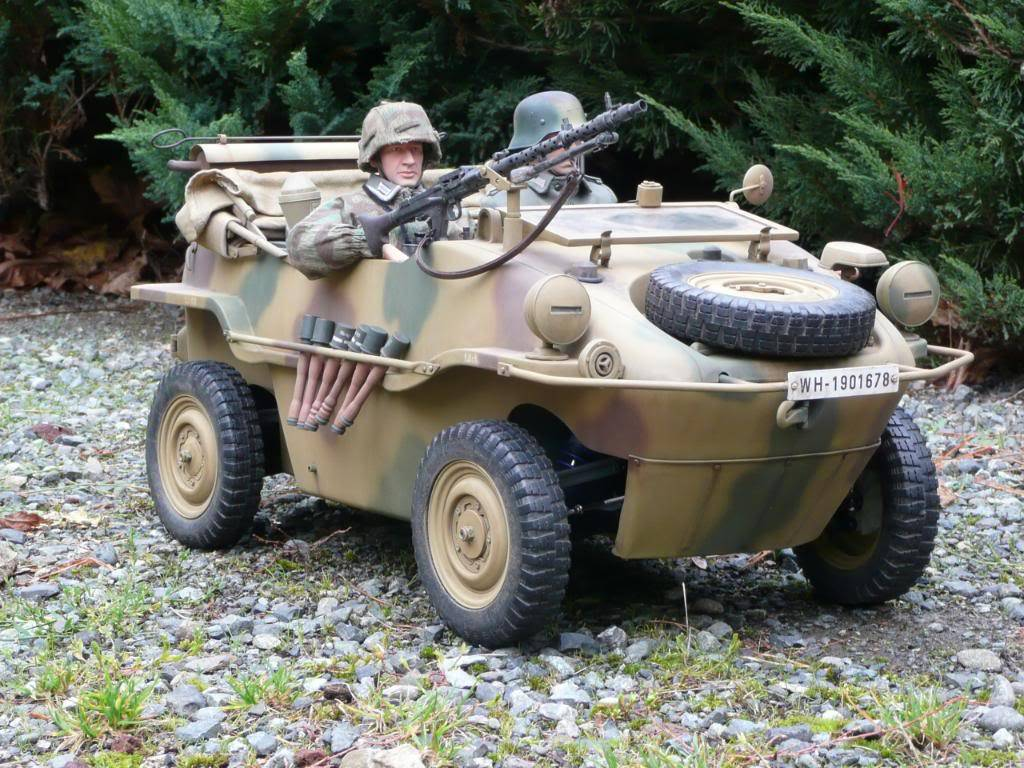 """vehicle - Archive """"old"""" work: RC 21st C Schwimmwagen conversion/scale detailing P1000558"""