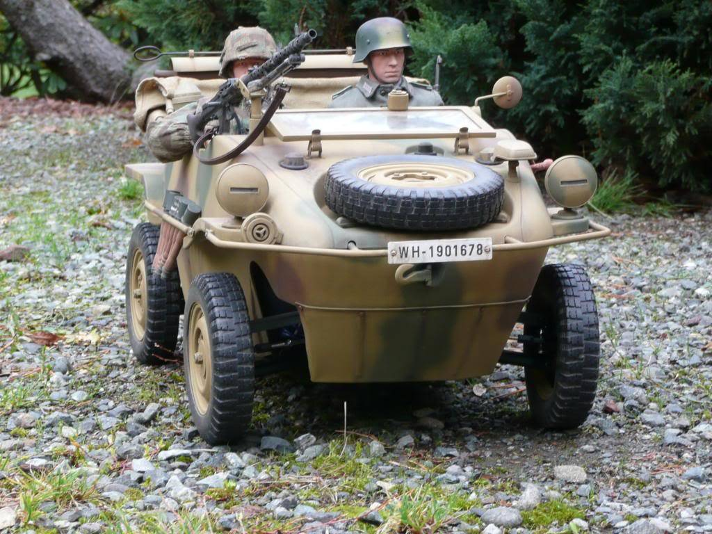 """vehicle - Archive """"old"""" work: RC 21st C Schwimmwagen conversion/scale detailing P1000559"""