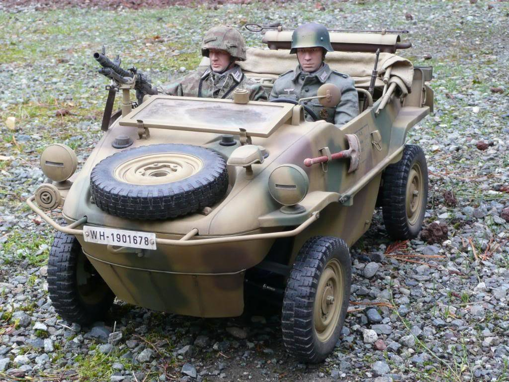 """vehicle - Archive """"old"""" work: RC 21st C Schwimmwagen conversion/scale detailing P1000562"""