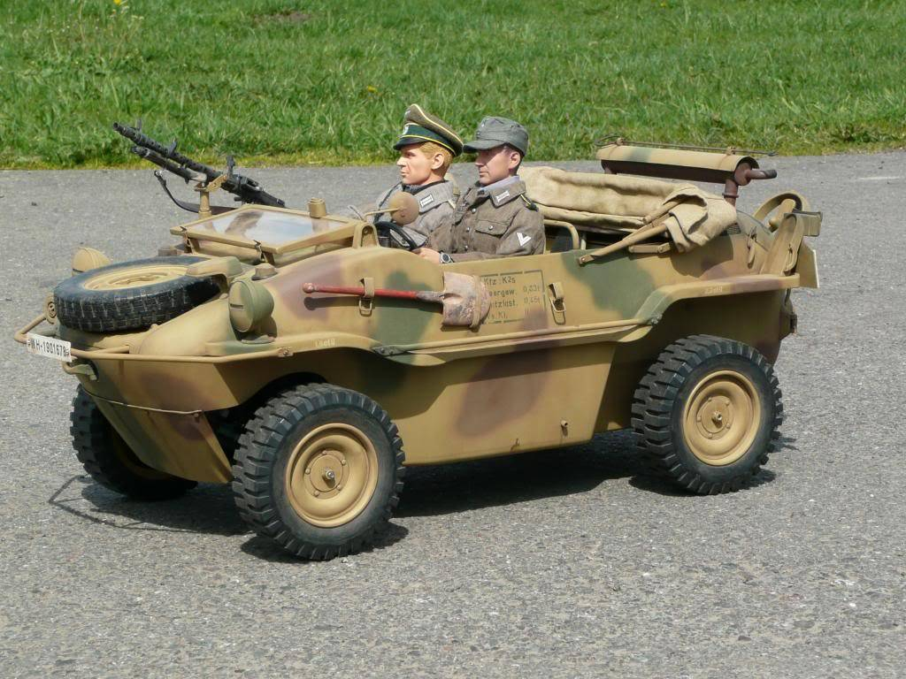 """vehicle - Archive """"old"""" work: RC 21st C Schwimmwagen conversion/scale detailing P1030588"""