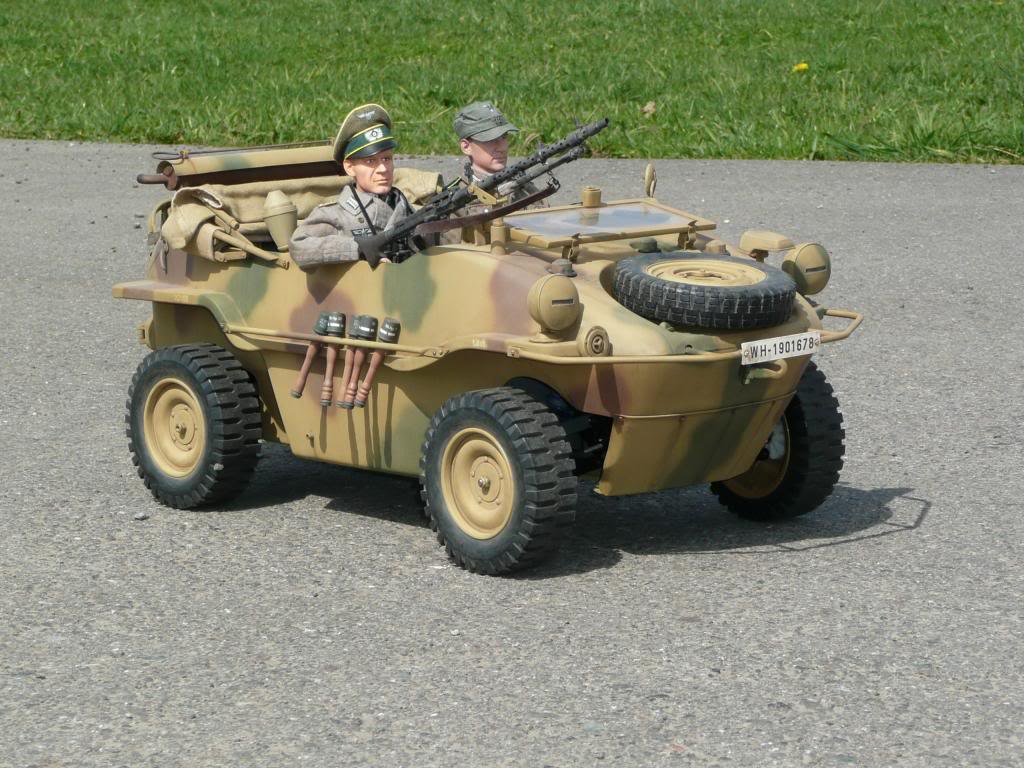 """vehicle - Archive """"old"""" work: RC 21st C Schwimmwagen conversion/scale detailing P1030590"""