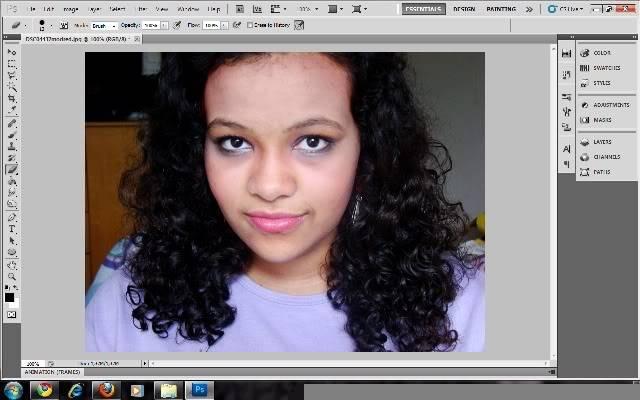 Tutorial Photoshop - Fazendo sua Marca de Vampiro 01