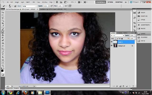 Tutorial Photoshop - Fazendo sua Marca de Vampiro 02
