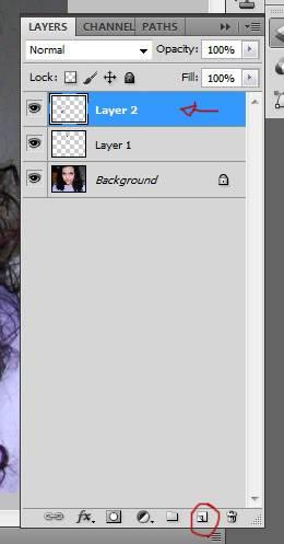 Tutorial Photoshop - Fazendo sua Marca de Vampiro 05