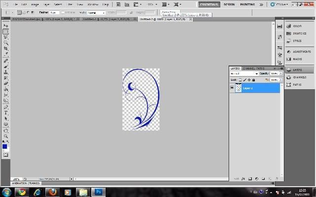 Tutorial Photoshop - Fazendo sua Marca de Vampiro 06