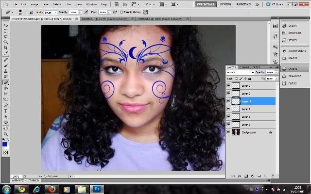 Tutorial Photoshop - Fazendo sua Marca de Vampiro 12