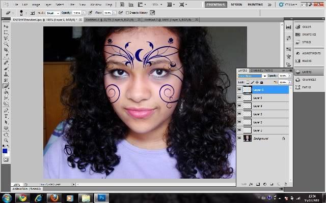 Tutorial Photoshop - Fazendo sua Marca de Vampiro 13