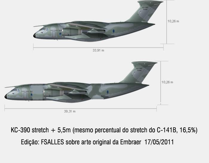 EMBRAER KC-390  - Página 21 KC390-Stretch