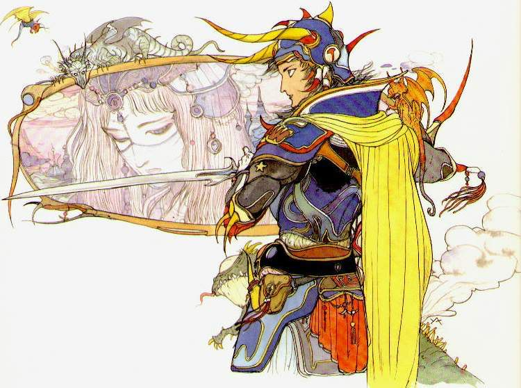 RPG para Super Nintendo FF1LightWarriorPrincessSarac