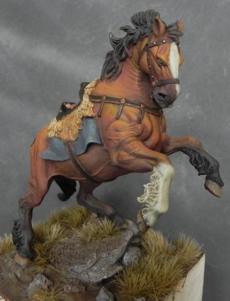 Viking on horseback - 54mm Andrea Miniatures DSCN7106_zps2555b943