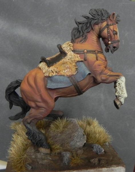 Viking on horseback - 54mm Andrea Miniatures DSCN7107_zps564f0ae3