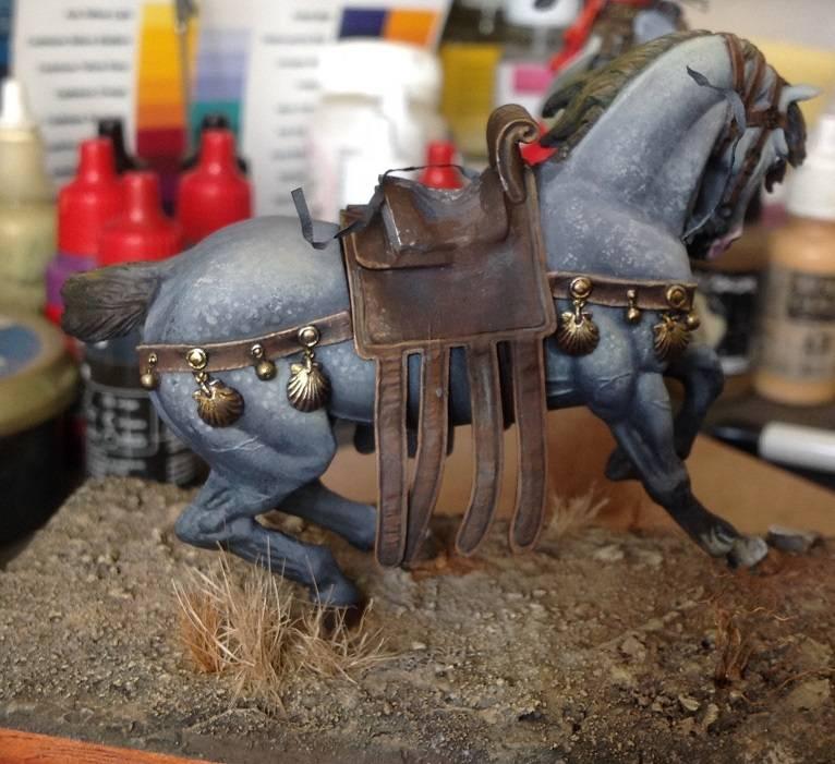 Cavaleiro do Santo Sepulcro - Pegaso 54mm Cavalo1_zps2mydxr1e