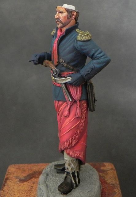 Oficial de cavalaria da Revolução Farroupilha - 54mm Mauro Brabosa Miniatures Gaucho4_zpsasuvp1ht