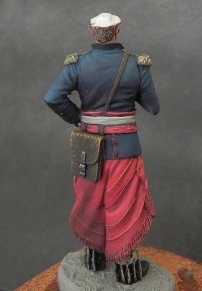 Oficial de cavalaria da Revolução Farroupilha - 54mm Mauro Brabosa Miniatures Gaucho5_zpsa8kacu3x