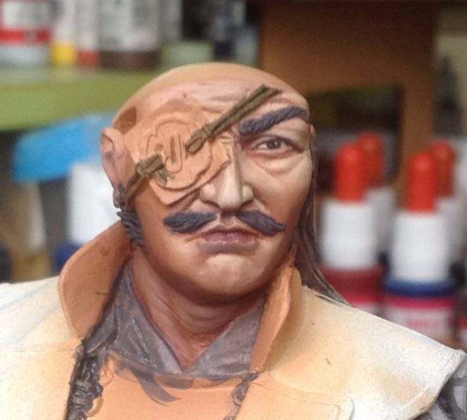 Samurai Hero - Pegaso busto 200mm Foto1_zps998e0567
