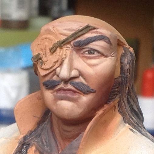 Samurai Hero - Pegaso busto 200mm Foto2_zps6897e652