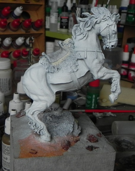 Viking on horseback - 54mm Andrea Miniatures DSCN7036_zpseb2f9001