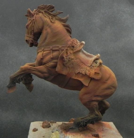 Viking on horseback - 54mm Andrea Miniatures DSCN7042_zps0c3cf161