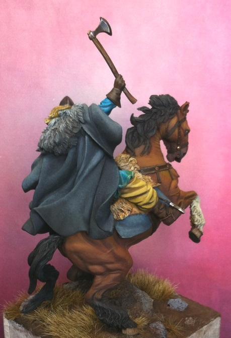 Viking on horseback - 54mm Andrea Miniatures Foto1_zpsa973e9f3