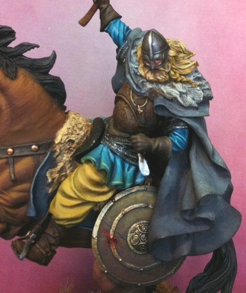 Viking on horseback - 54mm Andrea Miniatures Foto4_zps2de68593