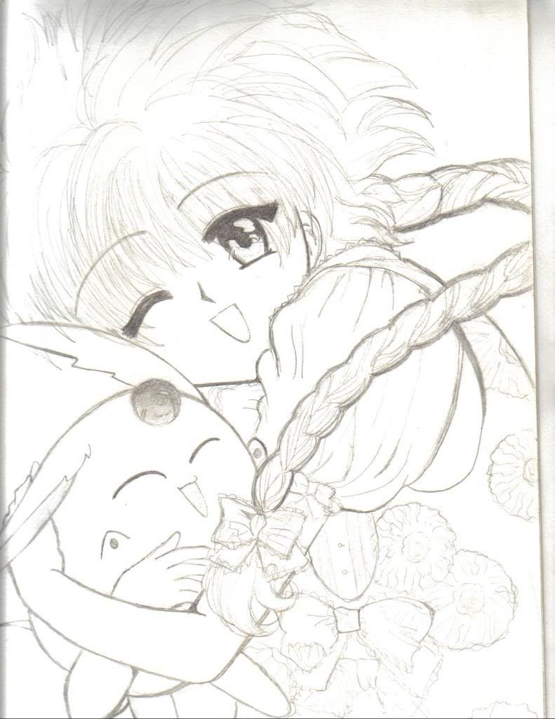 algunos dibujos míos ^^U (By_Kaguya) Lucy_bykagu