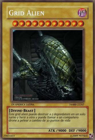 YUGIOH card Maker para uso de que sea Gridaliencard
