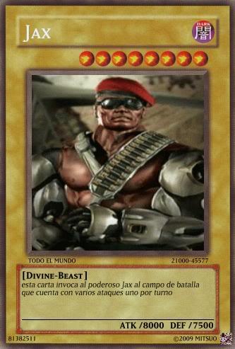 YUGIOH card Maker para uso de que sea Cartadejax1
