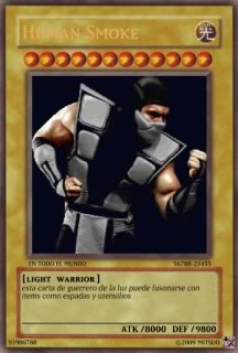 YUGIOH card Maker para uso de que sea Humansmoke