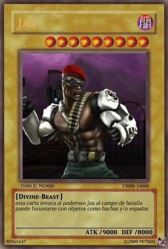 YUGIOH card Maker para uso de que sea Jaxdd