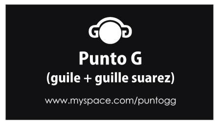 Punto G @ Octubre 2009 Promo Mix Puntog_web