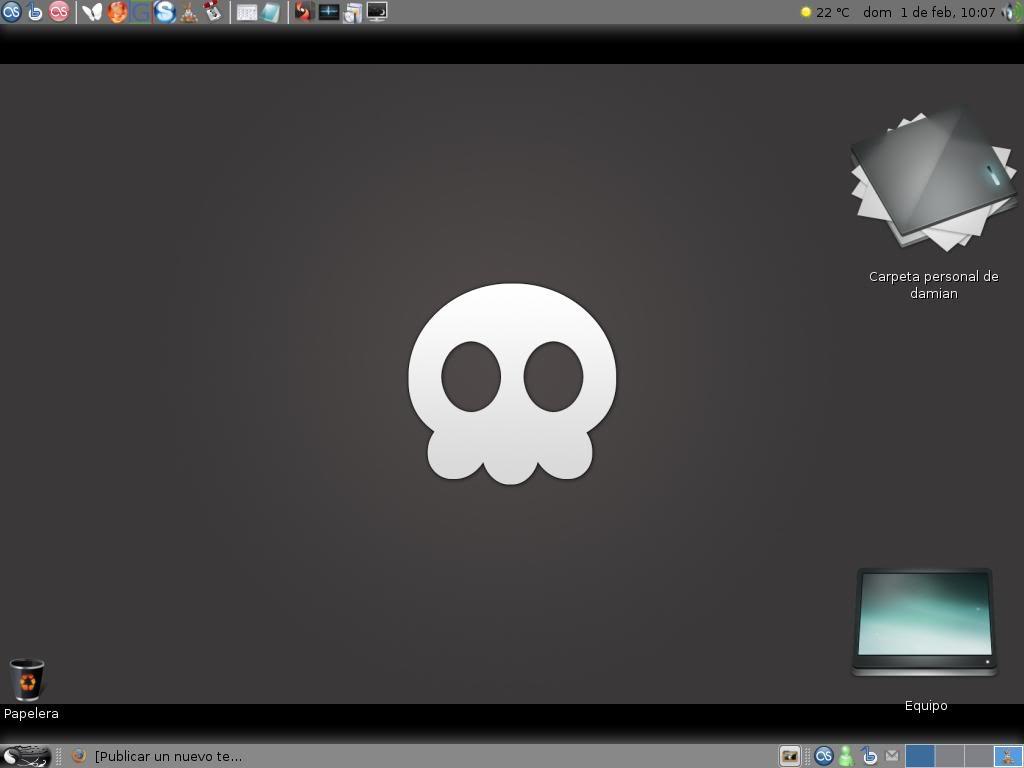 How does how desktop look? Pantallazo-2