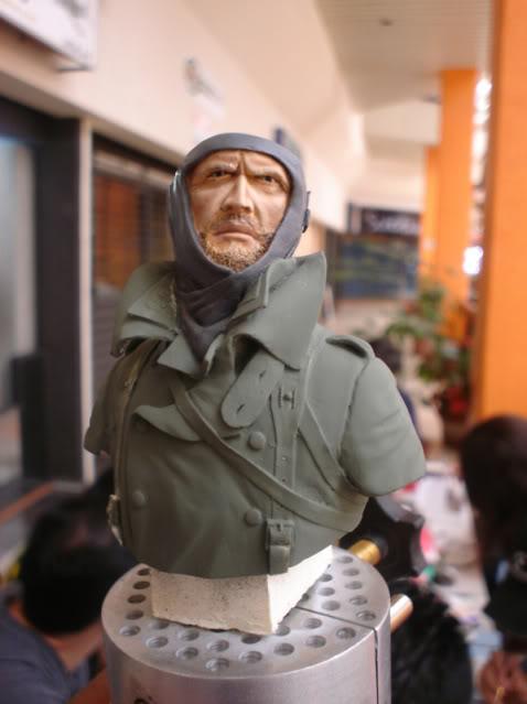 Un soldado aleman Obershutzerpintura1