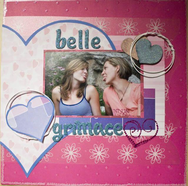 10/09 : belle grimace ( DT kiki art ) Bellegraimace
