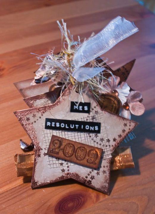 Mini ''resolution 2009'' Facered