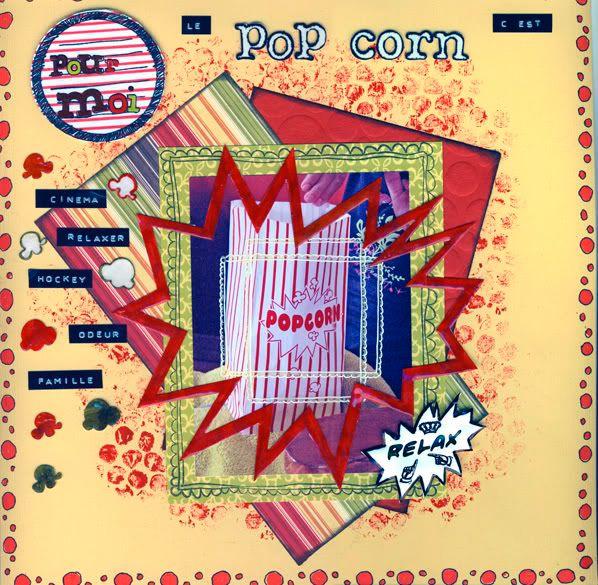 27 septembre : pop corn (echange de photo) Popcornred