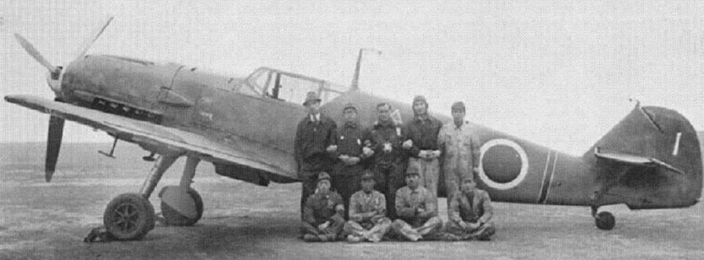 Messerschnitt Bf109E-4/7   Hasegawa 1/48 Japanese-109-side