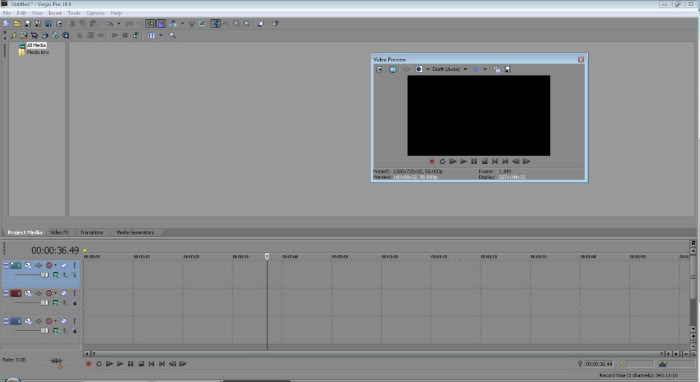Sony Vegas Basics. (For me at least) VideoPreview-2