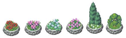 Luna Xp RTP Town-flowers