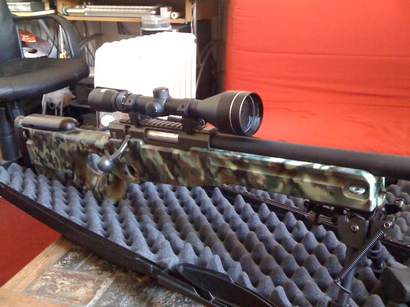 Présentation de Fred, sniper Camo