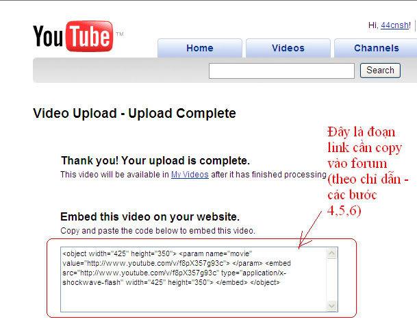 Cách post nhạc, video lên forum T6-1