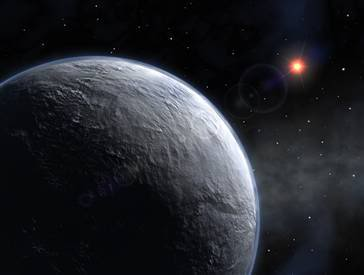 The newfound planet, named OGLE-2005-BLG-390Lb, has proven not for living EXO1h21