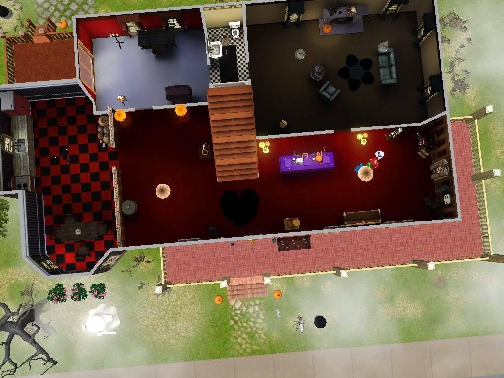 Haunted House Contest HH1stFloorAerial
