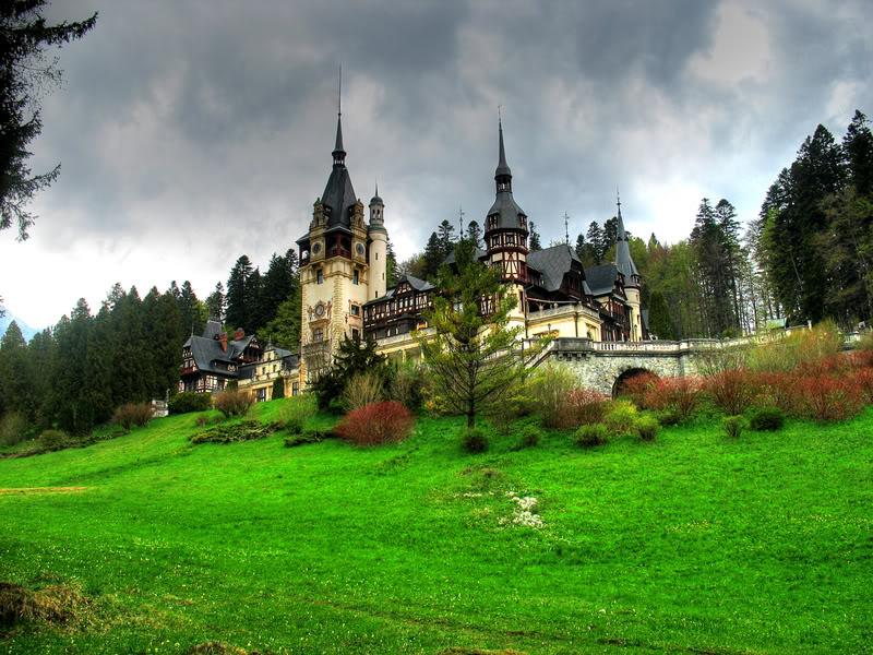 Mas Cuentos de Canterbury Peles-Castle-Sinaia-Romania-1
