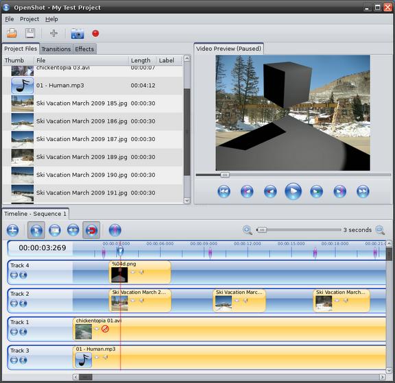 OpenShot 0.9.42 – Ahora con efectos para audio y video Complex20Timeline